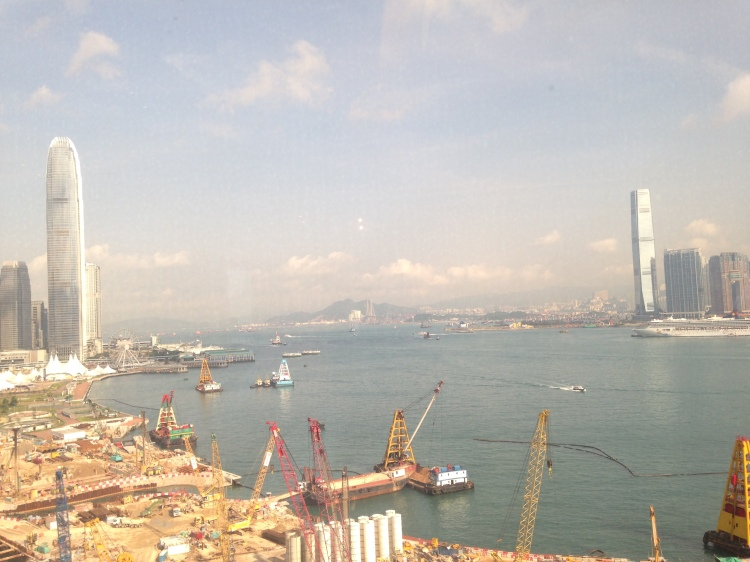 Harbour View Room at the Grand Hyatt Wan Chai